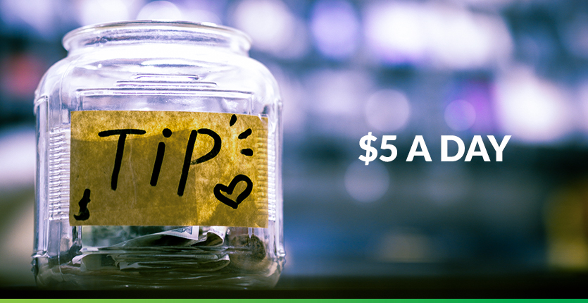 Read more about the article Saving $5 A Day